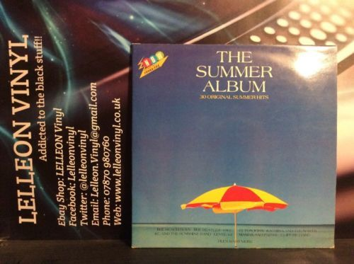 NOW Summer Album Compilation Double LP Vinyl SUMMER1 Pop Rock Soul 80's Music:Records:Albums/ LPs:Pop:1980s