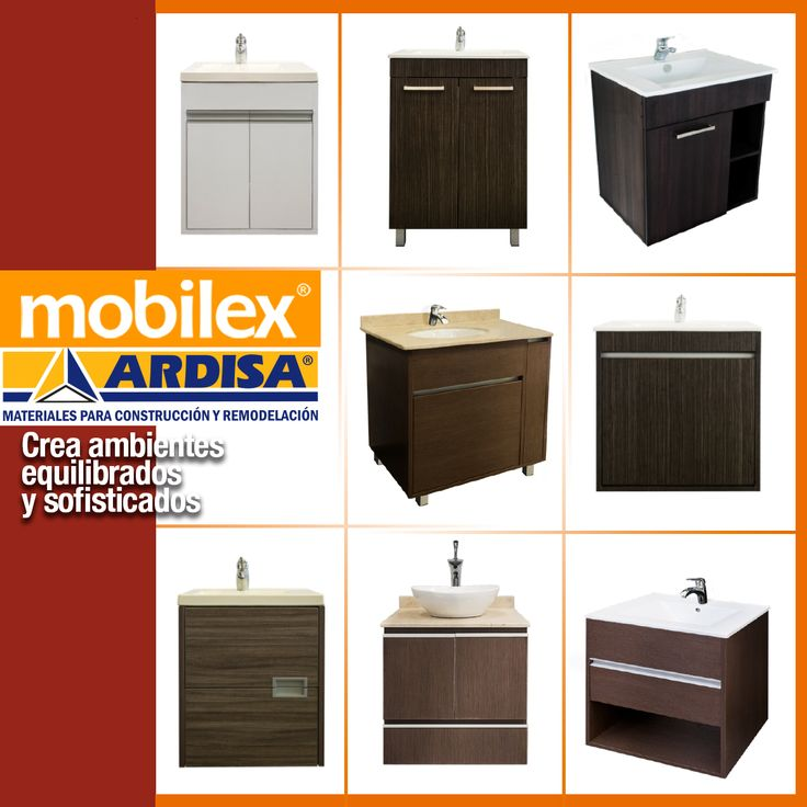 En #Ardisa tenemos la más amplia gama de productos con los que construirás la casa de tus sueños. Crea ambientes equilibrados y sofisticados  con nuestros muebles de baños #Mobilex