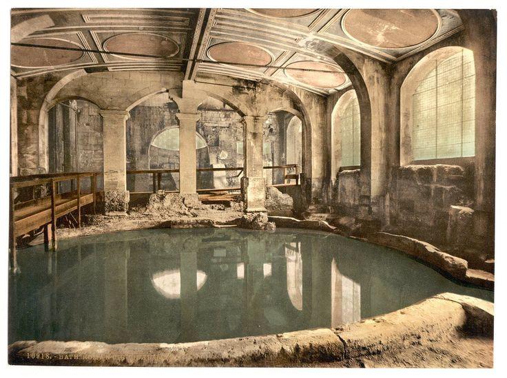 victorian-view-of-roman-baths-interior-the-circular-bath-bath-somerset-england-colour-photograph-picture-print-3975-p.jpg (1280×956)