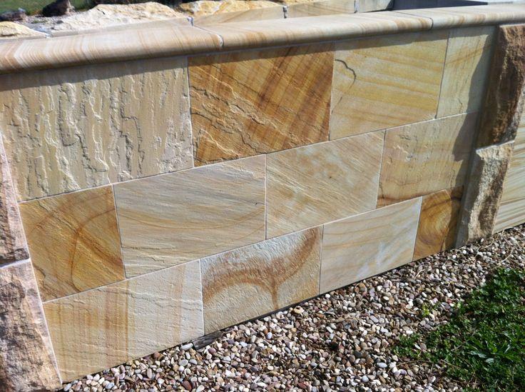 Sandstone Modern Garden Wall Sydney