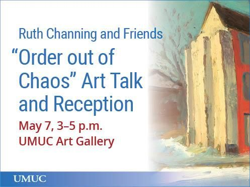 Celebrate Baltimore's artists' communities and work. Join us for the opening reception of the latest art exhibit at UMUC on May 7 for a discussion led by guest curator Ruth Channing.