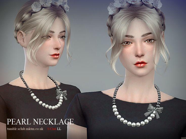S-Club LL ts4 necklace N04