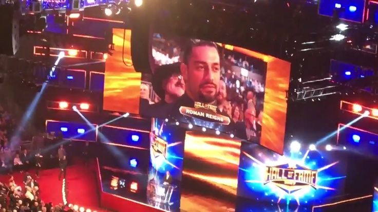 Roman Reigns booed at WWE Hall of Fame 2017