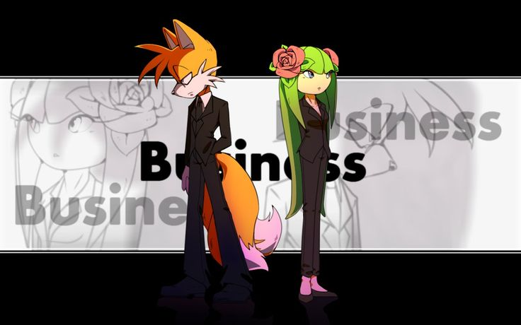 Tails and Cosmo: Business by Cheroy on DeviantArt