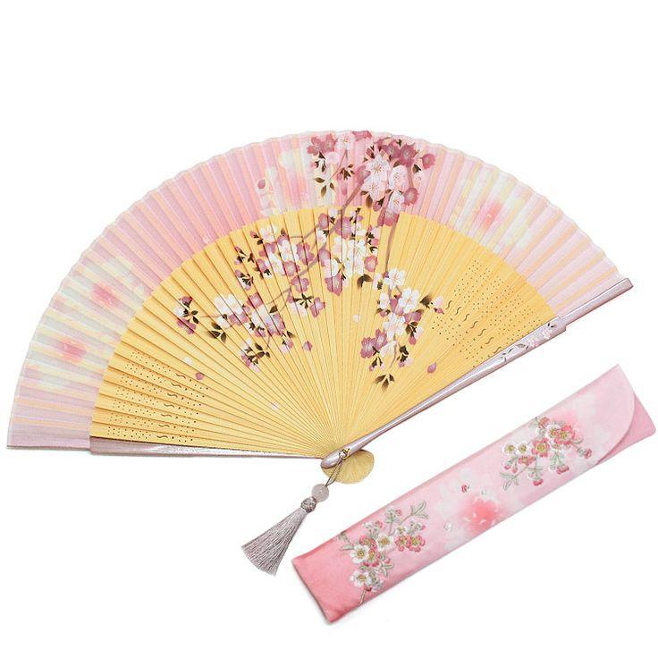 姫桜(ひめざくら) 扇子セット (全3種類)   婦人(女性)扇子     白竹堂オンラインショップ