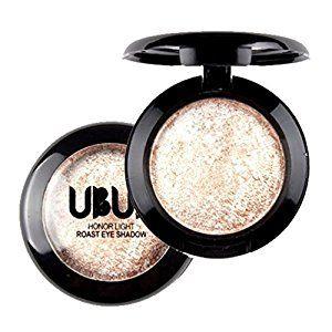 Single Baked Eye Shadow,Tefamore Powder Palette Shimmer Metallic Eyeshadow Palette (B): Amazon.co.uk: Beauty
