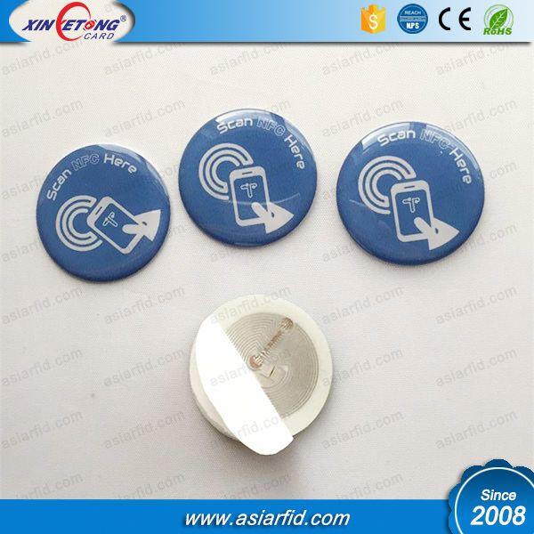 RFID Antenna Epoxy Tags NFC Outside tags RFID Disk Tag 25MM