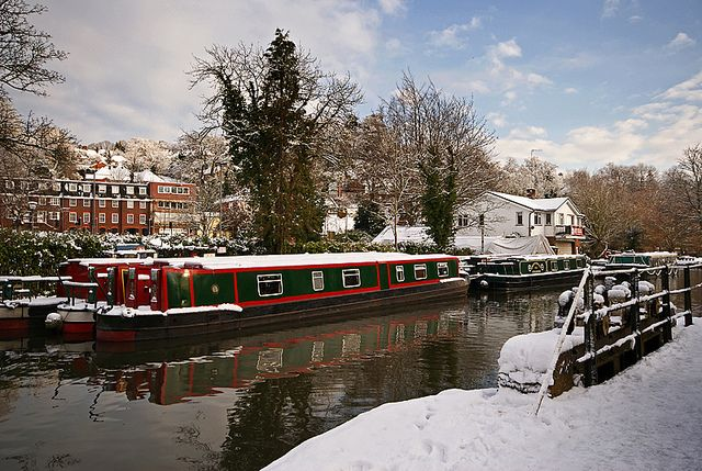 Canal Boats on the River Wey, Guildford by craig.denford, via Flickr