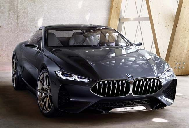 BMW 8 Series Concept Revealed In All Its Glory #bmw8seriesconcept #bmw #8Series #carporn #luxuryes