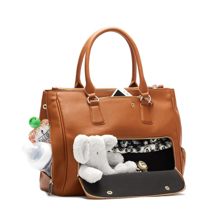 Fact + Fiction Sophia Tote Tan, £135.  The ultimate stylish, functional baby bag.