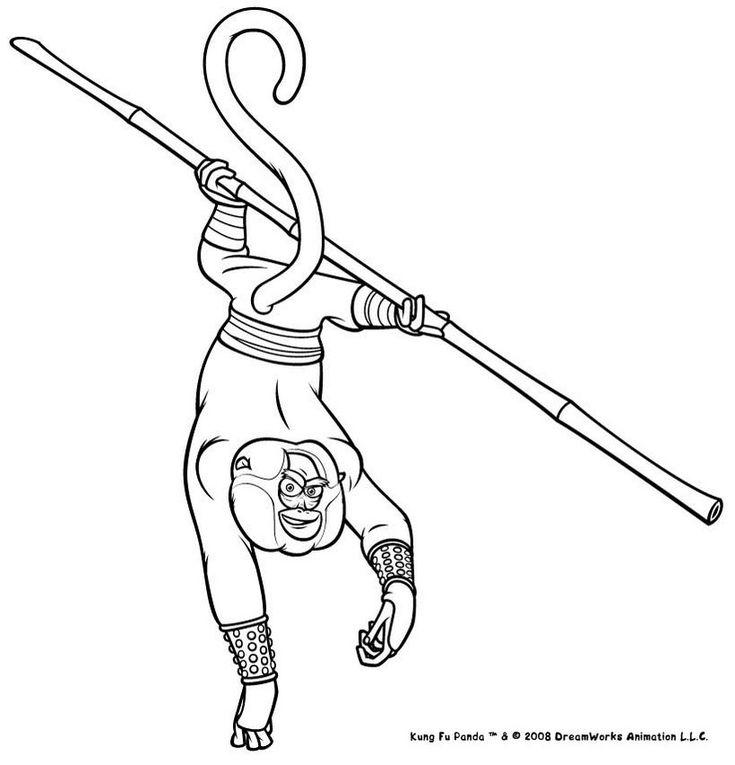 30 coloriage Kung Fu Panda