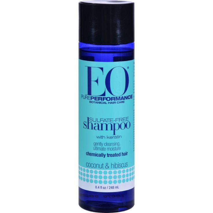 EO Products Keratin Shampoo Coconut and Hibiscus - 8.4 fl oz