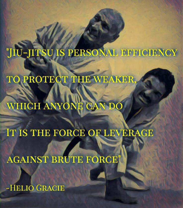 Helio Gracie BJJ Jiujitsu quote mma ufc martial arts  Follow instagram @bjj_philosophy