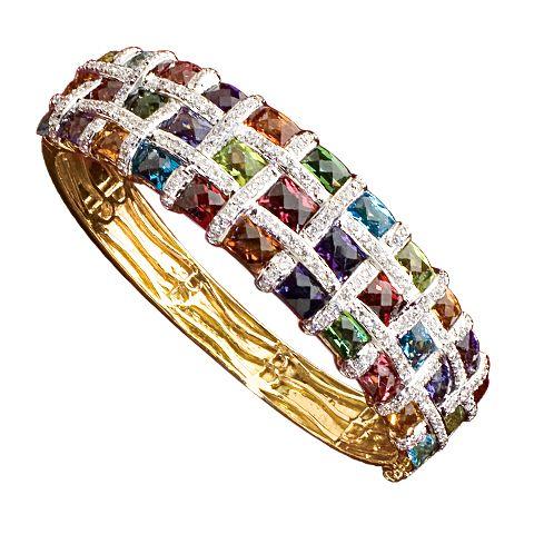 Bellarri Gemstone & Diamond Bracelet