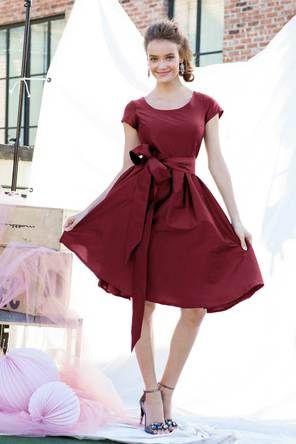 Soho Dress Burgundy