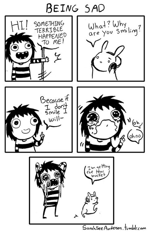 A little darker than usual, but I do hope some of you relate to this feeling.