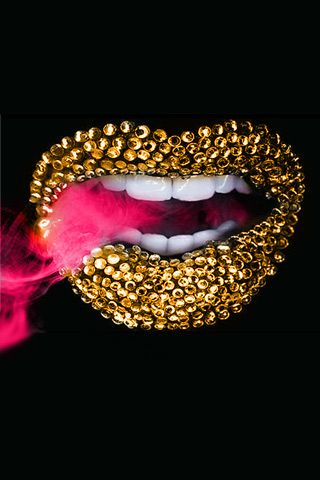 iphone wallpapers bling and lips on pinterest