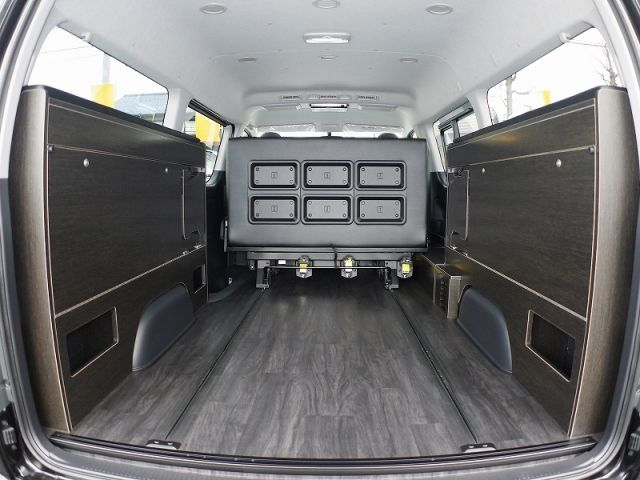 ハイエース 2段ベッド サブバッテリー 本格ライトキャンパー Fd Box6横向きシートモデル フレックス ドリーム ハイエース ハイエース 内装 ハイエース ワゴン