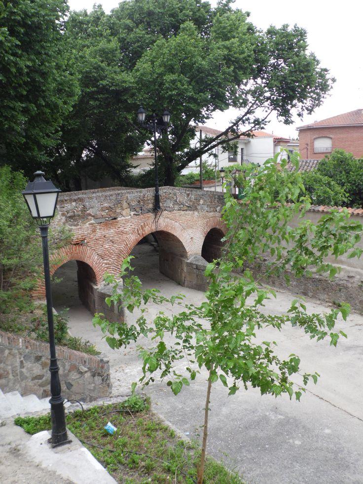 ALCAÑIZO (Toledo) - Puente centenario.