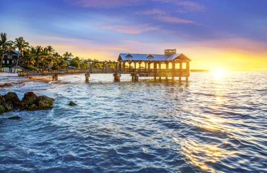 O estado norte-americano da Flórida é um dos lugares mais fascinantes dos Estado... - Shutterstock