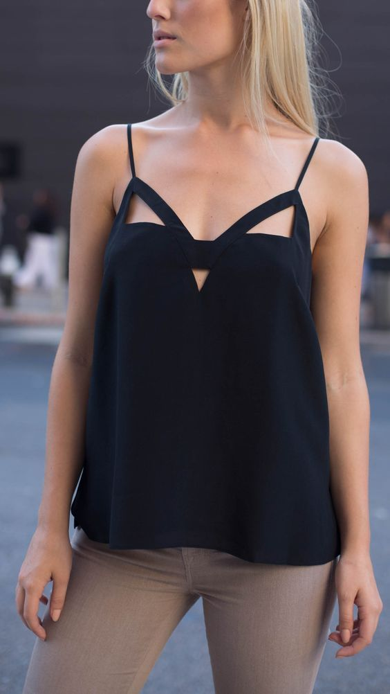 So in love with this CAMI NYC top.:
