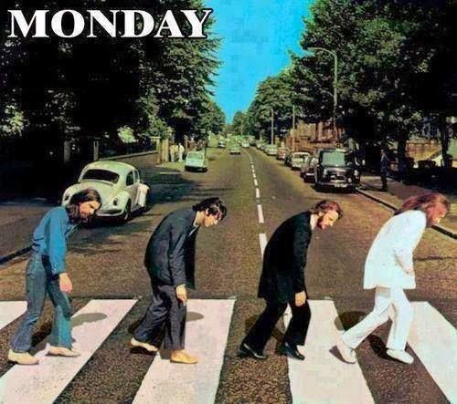 It's monday! E' lunedi... riprende il lavoro. :) Recensito da: www.setadv.com