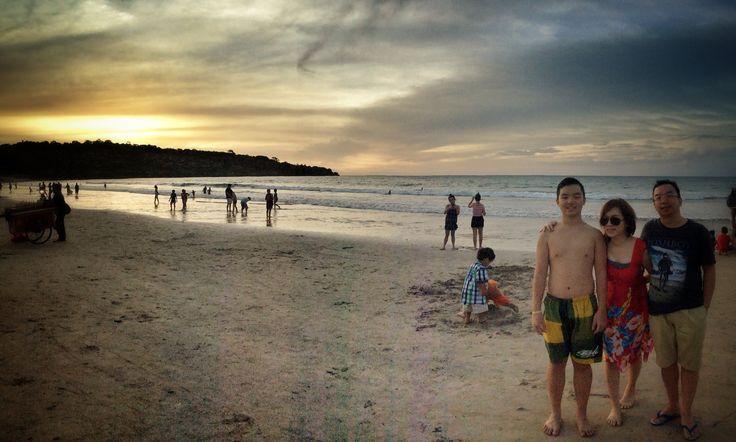 Sunset at Jimbaran, Bali