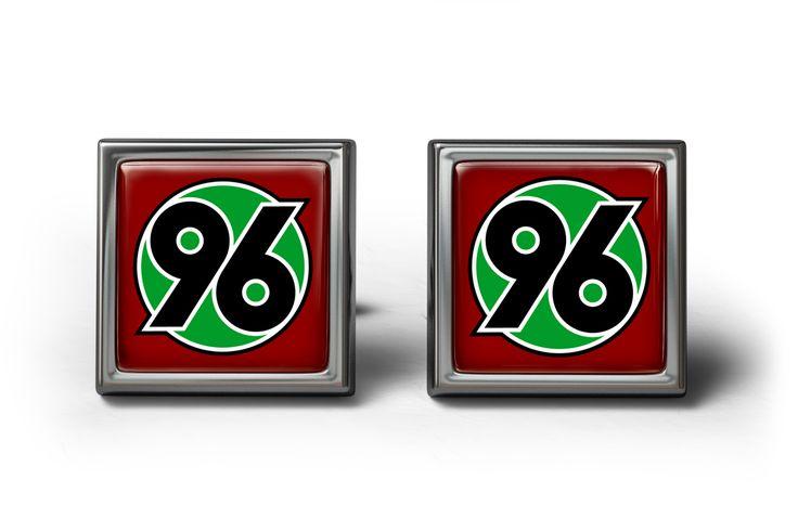 Hannover 96 FC Cufflinks Manschettenknöpfe #Cufflinks #personalized #football