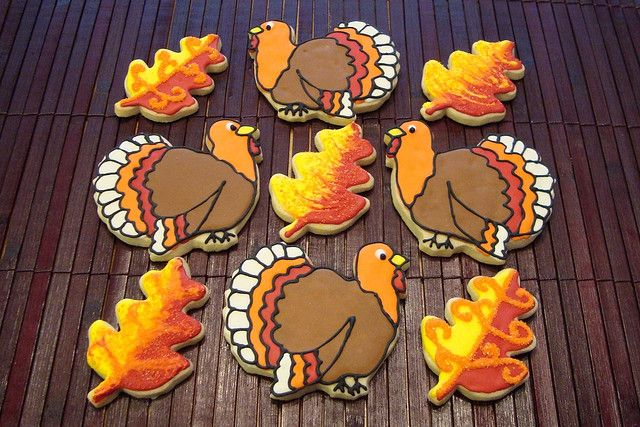 thanksgiving cookies martha stewart