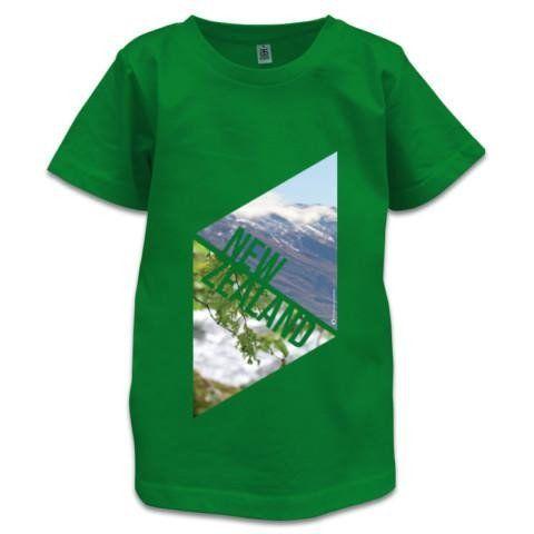 NZ Children's T-Shirt - New Zealand Explorer
