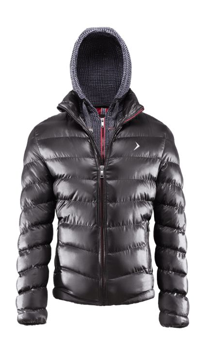 Innovative men's jacket, combining elements of a down jacket and a blouse. Detachable hood will let you adjust its functionality according to your needs, and reflective elements will increase your visibility.   Benefits: -inner mobile and money pockets -two side pockets -very light fabric, easy in maintenance