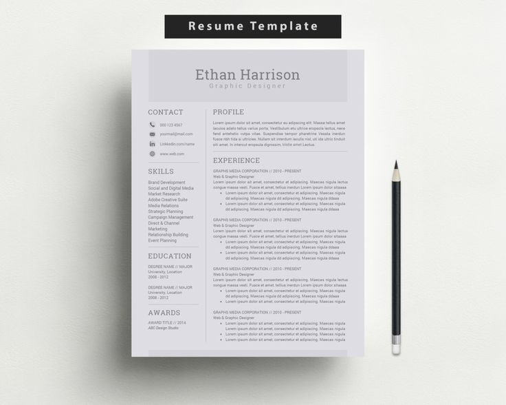 15 best Resume images on Pinterest Sample resume, Resume and - resume and cover letter template microsoft word