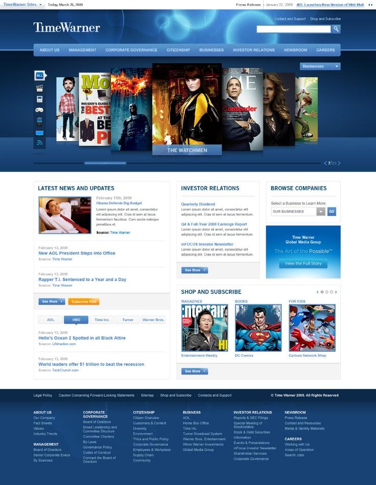 Time Warner - Shape Layer - Portfolio of Bryan Le