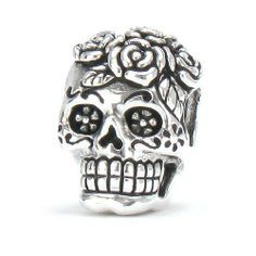 skull pandora charm - Google Search                                                                                                                                                                                 More