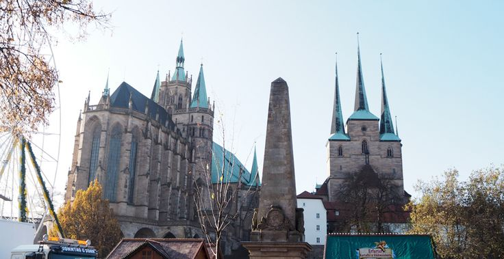 Erfurt Deutschland Urlaub Travel