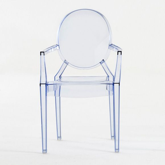 Lou Lou Ghost Chair Baby, Light blue, Kartell