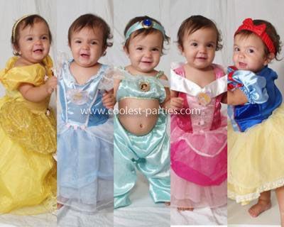 Princess First Birthday Invitations