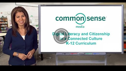 K-12 Digtial Literacy and Citizenship videos   Common Sense Media
