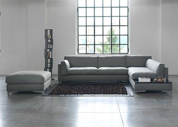 Divano moderno angolare dalla linea di design modello Portofino - Tino Mariani. Il rivestimento può essere in tessuto sfoderabile, pelle, alcantara o microfibra. Il divano angolare Portofino è disponibile anche Su Misura. http://www.tinomariani.it/prodotti/portofino.html