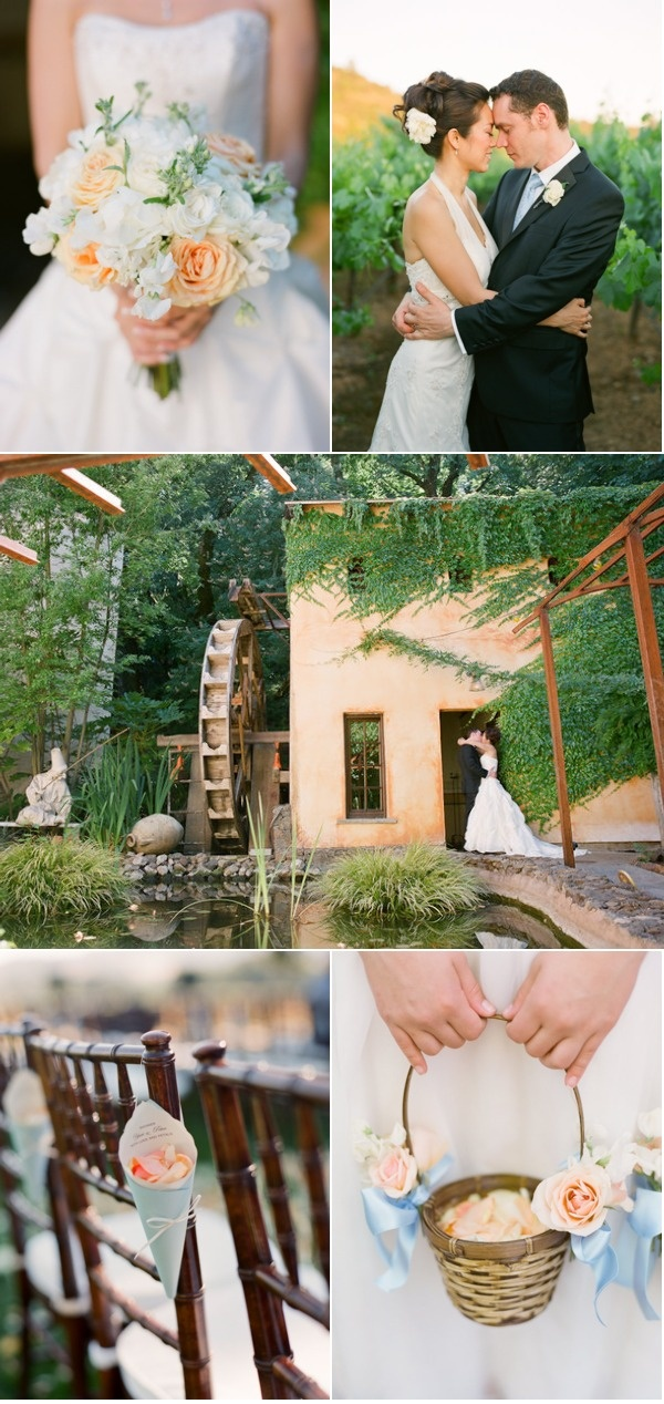 Chatueau St. Jean Wedding