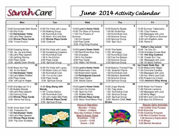 Sarah Adult Daycare 25
