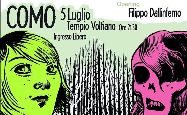 Tre Allegri Ragazzi Morti in Tour a Como #lakecomotourism #lagodicomo #eventicomo