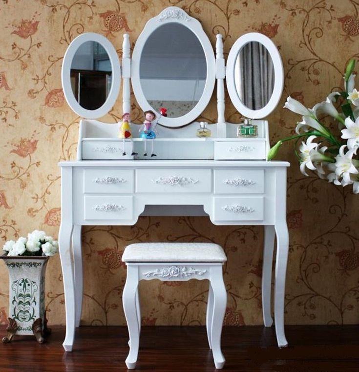 DUM a BYDLENI   Toaletní stolky   Toaletní stolek včetně stoličky XXL  5500,-