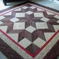 Most Popular Craftsy Project!!  Craftsy: Crafting Projects: Quilts Patterns, Quilts Inspiration, Stars Quilts, Carpenter Stars, Quilts Blocks, Hands Quilts, Machine Quilts, Quilts Ideas, Quilts Projects