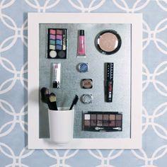 Organizador magnético de maquiagem