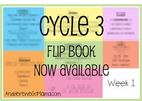 And Here We Go!: Cycle 3 Memory Work Flip Book is Finished!