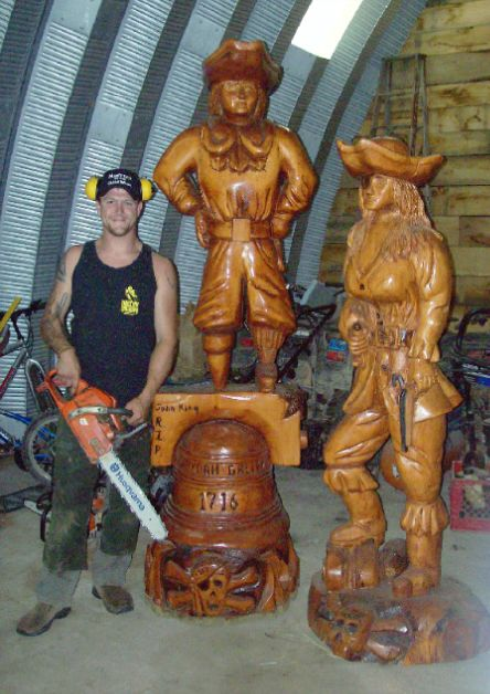 Best images about josh landry s custom chainsaw