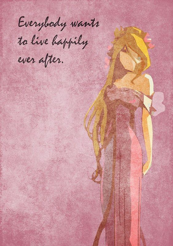 Enchanted inspired design (Giselle).