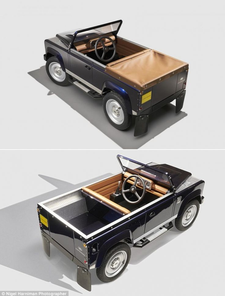 So Land Rover Have Released A Pedal Powered Car.