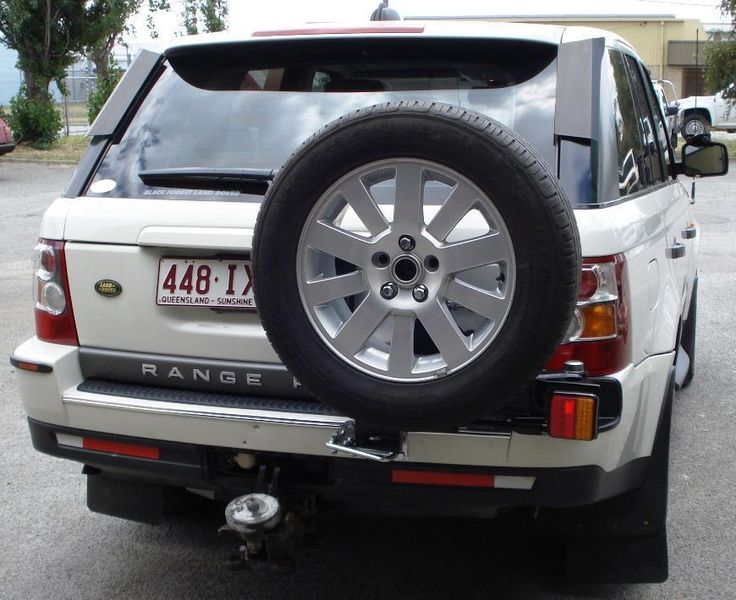 Range Rover Sport RHS Single Wheel Carrier